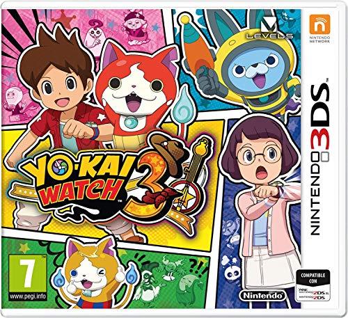 Yo-Kai Watch 3 (precio: 36,99€)