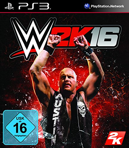 WWE 2K16 - [PlayStation 3] (Ps3-wwe-wrestling-spiele)