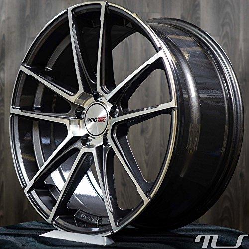 19 Zoll Alufelge Felge Motec MCT10 Radical für Audi A3 A4 S4 A5 S5 A6 A7 A8 Q3 TT, Fahrzeug Audi:Audi A3 8V (2012- )