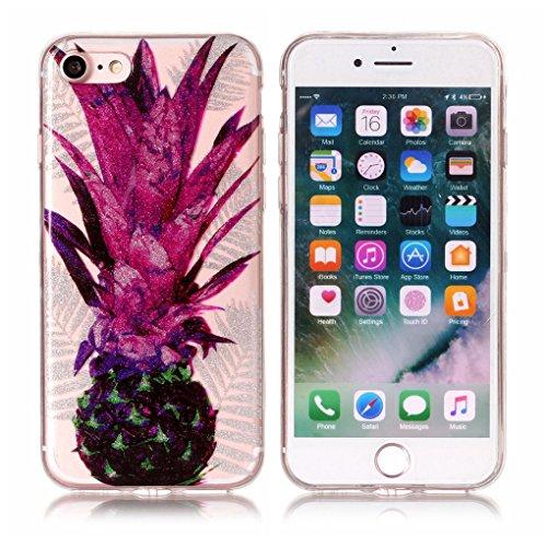Apple iPhone 7 / iPhone 8 Hülle, SATURCASE Schönes Muster Bling Ultra Dünn Weich TPU Gel Silikon Schützend Zurück Case Cover Handy Tasche Schutzhülle Handyhülle Hülle für Apple iPhone 7 / iPhone 8 (Mu Muster-5
