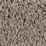 Teppichboden Auslegware | Hochflor Langflor | 400 und 500 cm Breite | braun | Meterware, verschiedene Größen | Größe: 1 Muster