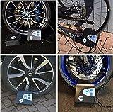 P.I. Auto Store - Gonfiatore per pneumatici auto digitale, qualità Premium – Compressore d'aria elettrico DC 12V. Pompa fino a 10,3 bar con borsa da trasporto