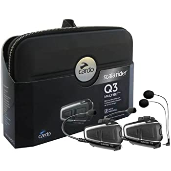 Scala Rider Q3 Multiset Bluetooth Headset (Pack of 2)