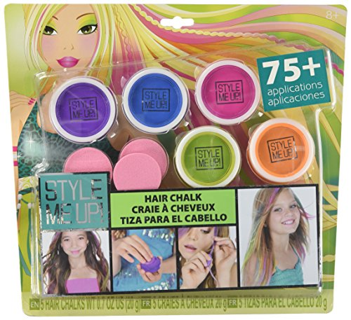 Style me up! 01629 - Haarschmuck - auswaschbare Haarkreide, 5-farbig