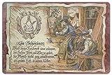 Geschenk Schreiner Tischler Blechschild 30 x 20 cm