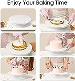 Hidden World Plastic Swivel Plate Revolving Cake Sugar Craft Turntable Decoration Stand Platform Baking Tools Plastic…