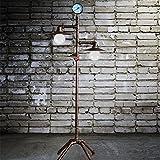 Edge to Stehlampe Industrielles Retro- Weinlese-Eisen-Wohnzimmer, das Rohr-Stehlampe lernt