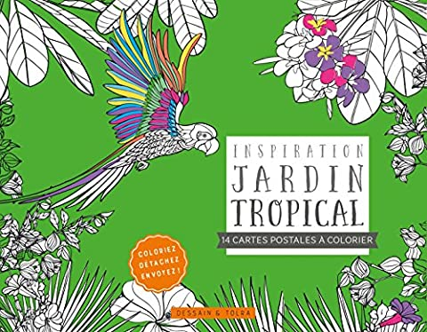 Jardin Tropical - Cartes postales Inspiration jardin