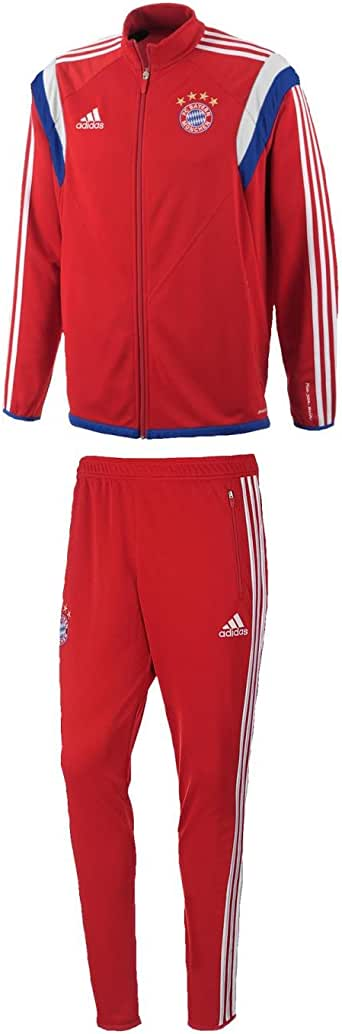 adidas Herren Trainingsanzug FC Bayern Training Suit, FCB