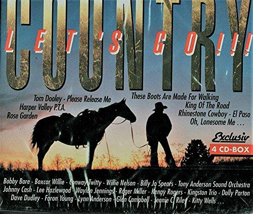 Country . Let's Go!!! [Box.Set mit 4 Audio CDs]. (Hank Williams-boxset)