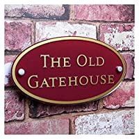 6YMN House Numbers house sign Customize HOUSE NUMBER PLAQUE SIGN DOOR NAME STREET ADDRESS QUALITY GLASS EFFECT