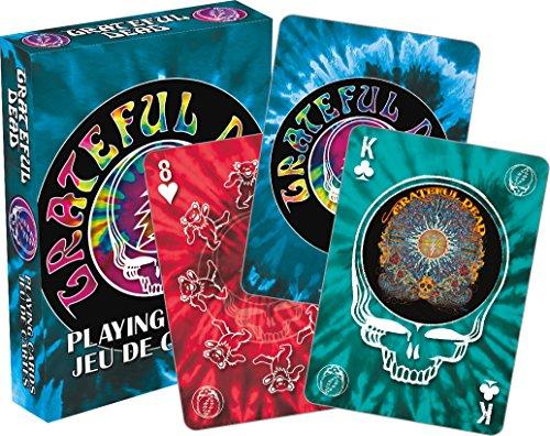 Aquarius Grateful Dead- Tie Dye Spielkarten Deck -