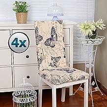 fundas para sillas pack de fundas sillas comedor fundas elsticas cubiertas para sillas