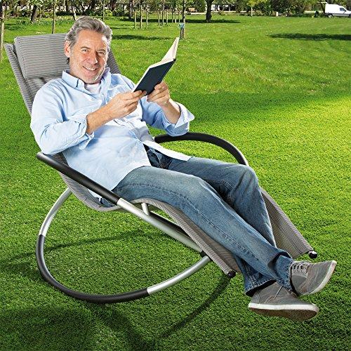 aktivshop Relax-Gartenliege, Schaukelliege