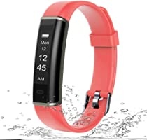 Letsfit Fitness Tracker, IP67 Waterproof Activity Tracker with Pedometer Step Counter Watch and Sleep Monitor Calorie...