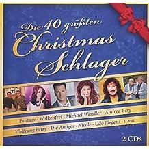 Die 40 Grten Christmas-Schlager [Import allemand]