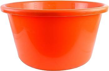 Mahananda Plastic Ghemela TUB, 20 Liters, Orange