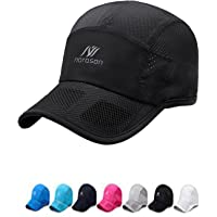 Stylish Peaked Cap Men's Women's Sun Visor Hat Thin Baseball Cap Hat Mesh Ventilating Fast Dry Golf Cap for Hiking…