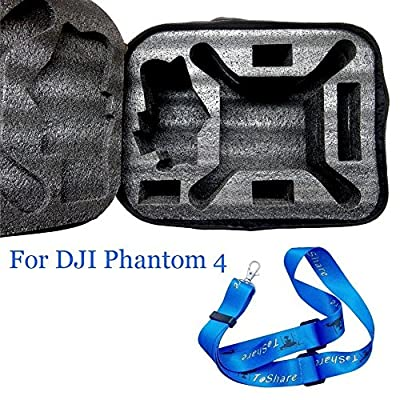 Aokey Outdoor Series Traveling Backpack Carrying Case Storage Bag for DJI Phantom 4 Drone - Black