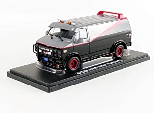 Greenlight Collectibles - DieCast Model GMC VANDURA 1983 From A-TEAM Tv Movie 12cm - Scale 1/43 - 86515 Black