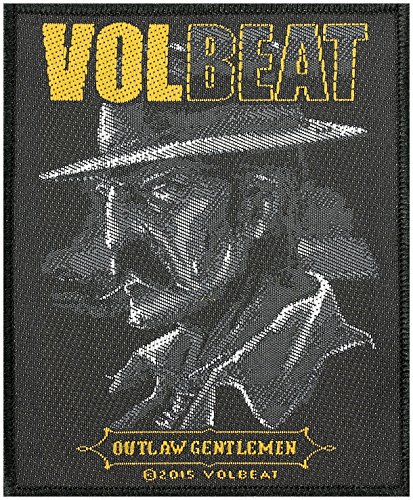 VOLBEAT OUTLAW GENTLEMEN Sew-On Patch 8 x 10 CM by Volbeat