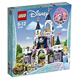 LEGO 41154 Disney Princess Cinderella's Dream Castle Toy, Prince and Cinderella figures, Building Toys for Girls