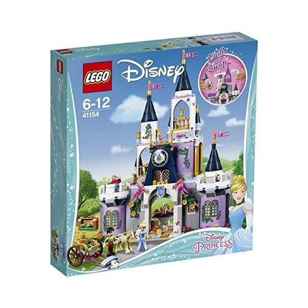 LEGO Disney Princess - Il Castello dei Sogni di Cenerentola, 41154 1 spesavip