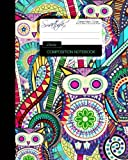 Owls Composition Notebook: College Ruled Writer's Notebook for School / Teacher / Office / Student [ Perfect Bound * Large * Carnival ] (Composition Books - Animal Series) by smART bookx(2015-07-14)