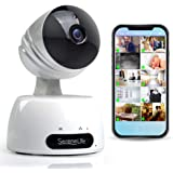 Indoor Wireless IP Camera - HD 7200p Network Security Surveillance Home Monitoring Featuring Motion Detection