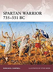 Spartan Warrior 735-331 BC by Duncan B Campbell (2012-07-20)
