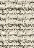 Reispapier A4 - Handschrift