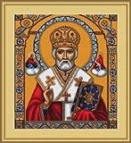 Luca-S St. Nicholas – Juego de punto de cruz, diseño de San Nicolás