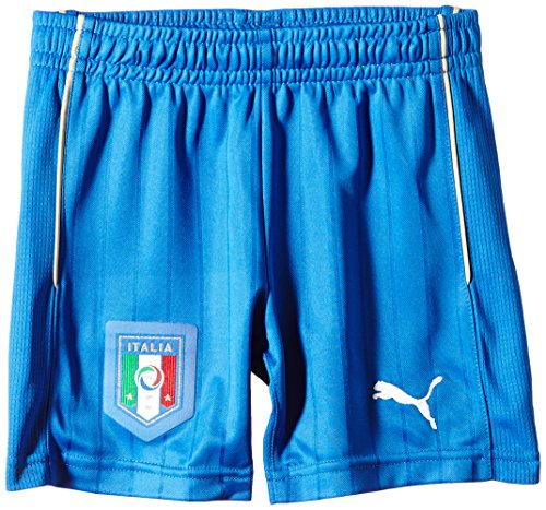 Puma FIGC Kid Away Shorts Replica Pantaloncini da ragazzo, Blu, 128 - S