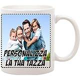 bubbleshirt Tazza Personalizzata con Foto Sanvalentino - Personalizza la Tua Tazza - Festa Innamorati