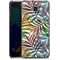 Samsung Galaxy A5 (2016) Housse Étui Protection Coque Palmier Feuilles Jungle