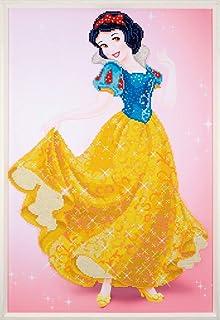 25.5 x 25.5cm Vervaco PN-0173560 Diamond Painting Kit Disney Cinderella Multi-colour