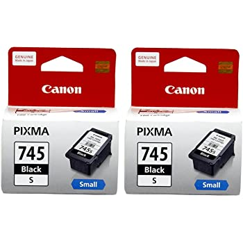 Canon Combo of 2 PG-745s (Small) Ink Cartridge (Black)