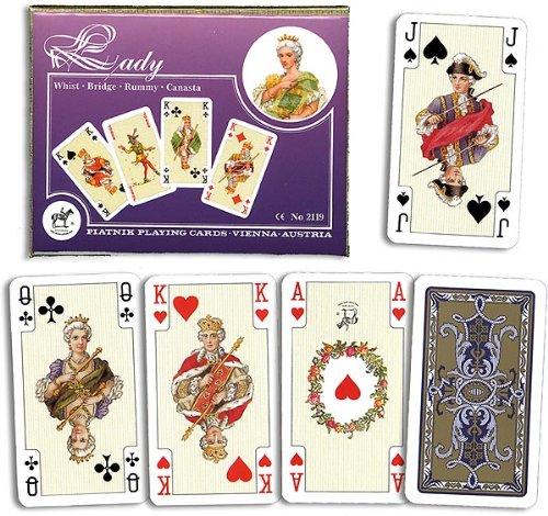 Kartenspiele, Romme, Lady von Piatnik