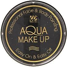 Video Delta - Confezione Trucco, Aqua Makeup, 30 Grammi, Nero