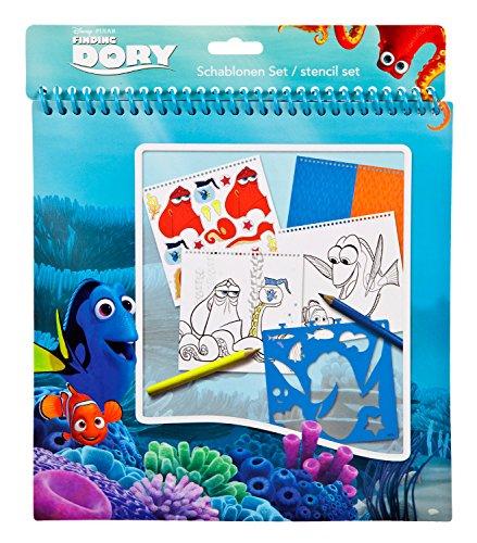 Undercover FDCW1210 - Disney Pixar Findet Dorie, Schablonen Set, 32-teilig (Schablone Disney)