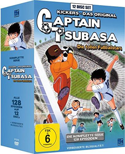 Captain Tsubasa: Die tollen Fußballstars - Die komplette Serie [12 DVDs] Kicker Box
