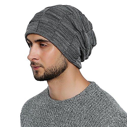 DonDon Chaud bonnet homme bonnet d'hiver...