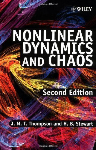 Nonlinear Dynamics & Chaos 2e: Geometrical Methods for Engineers and Scientists by Thompson, J. M. T., Stewart, H. B. (2001) Paperback