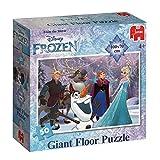Jumbo Spiele Disney 19343 - Frozen Großes Bodenpuzzle 50 Teile