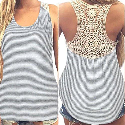 MRULIC Damen Sommer Kurzarm T-Shirt V-Ausschnitt mit Schnürung Vorne Oberteil Tops Bluse Shirt (3XL, Z-Hellgrau) -