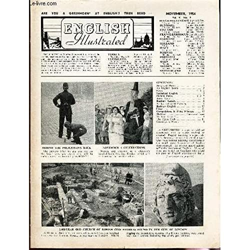 ENGLISH ILLUSTRATED - VOL.V - N°9 - NOV 1954 / The song of the Seagull / An english town / Underwater television / Lurning to care for teeth / etc...