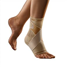 bort 054100 large links haut select TaloStabil Plus Aktiv-Sprunggelnkbandage mit Stabilo-Band, links large, beige