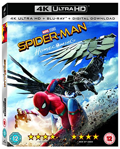 Spider-Man Homecoming [4K UHD + Blu-ray + Comic]