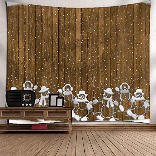 Lucky store christmas tapestry christmas decoration tessuto tema palla modello wall parete romantica art 150x130cm, danza