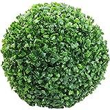 Gemini _ Mall® Vert artificiel Feuille Fleur topiaire Boule, 30cm de diamètre